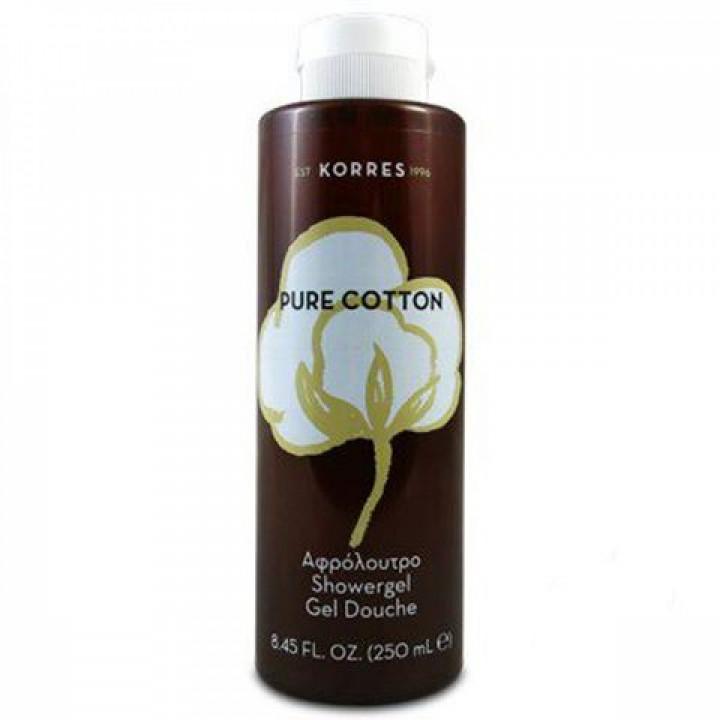 KORRES pure cotton shower gel 250ml