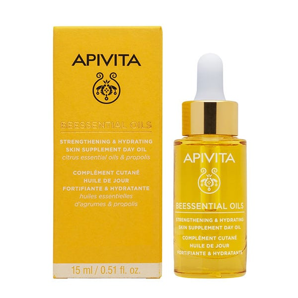 APIVITA BEESSENTIAL STRENGTH & HYDRATION SKIN DAY OIL 15ml