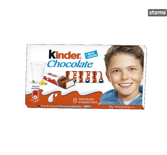 Kinder Chocolate 8 pieces 100g