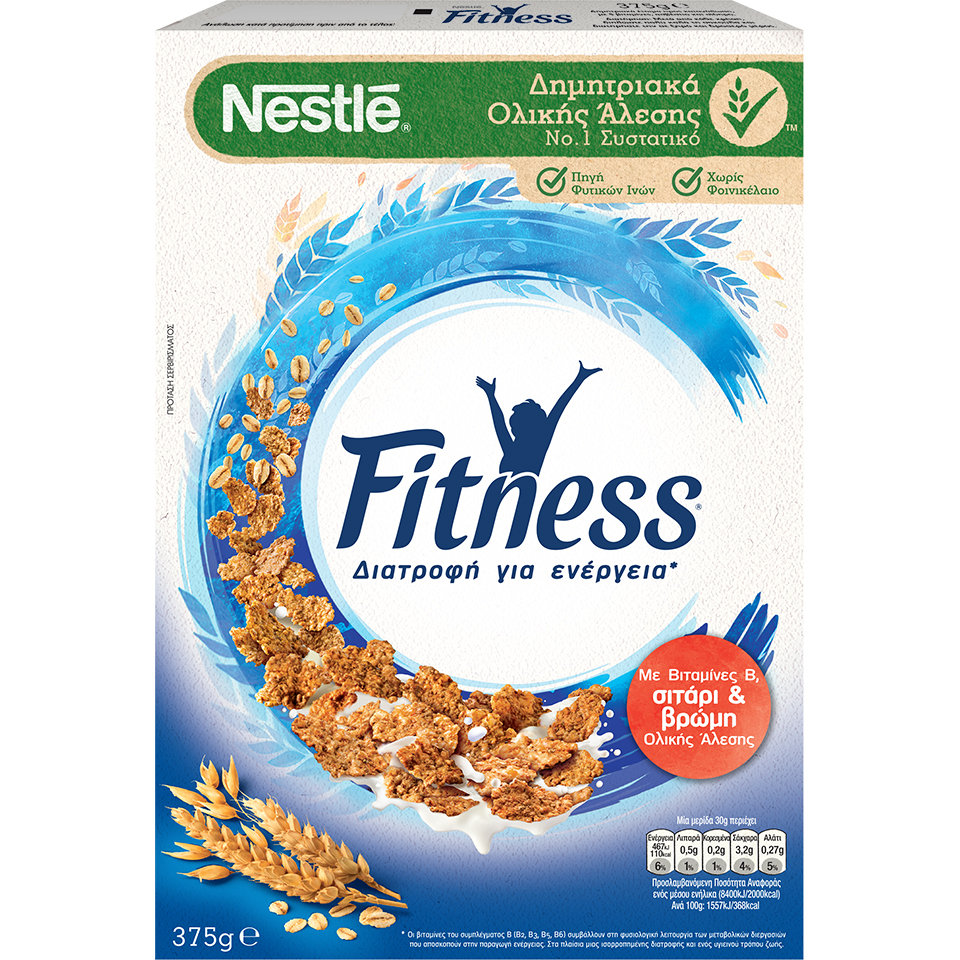 FITNESS WITH WHEAT AND WHOLEMEAL OATS 375g