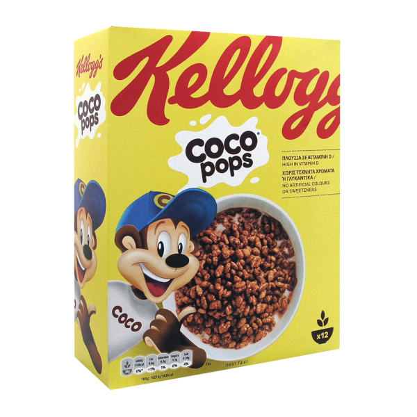 KELLOGGS COCO POPS 375GR