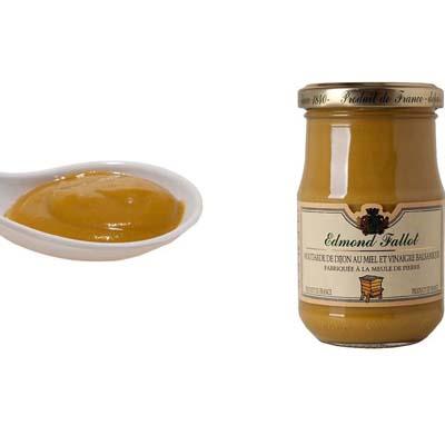 Dijon mustard with honey and balsamic vinegar 10cl