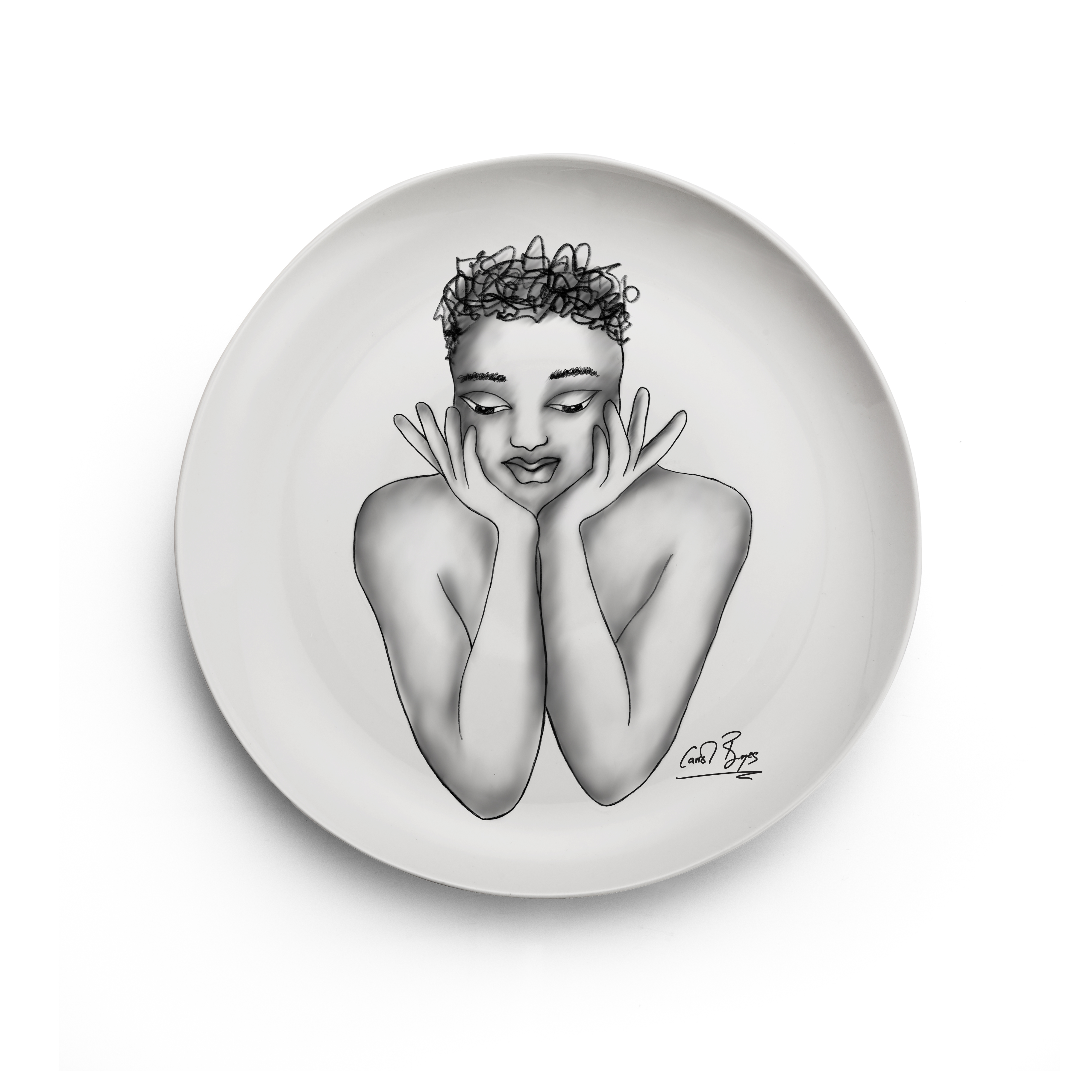 SIDE PLATE - fascinating