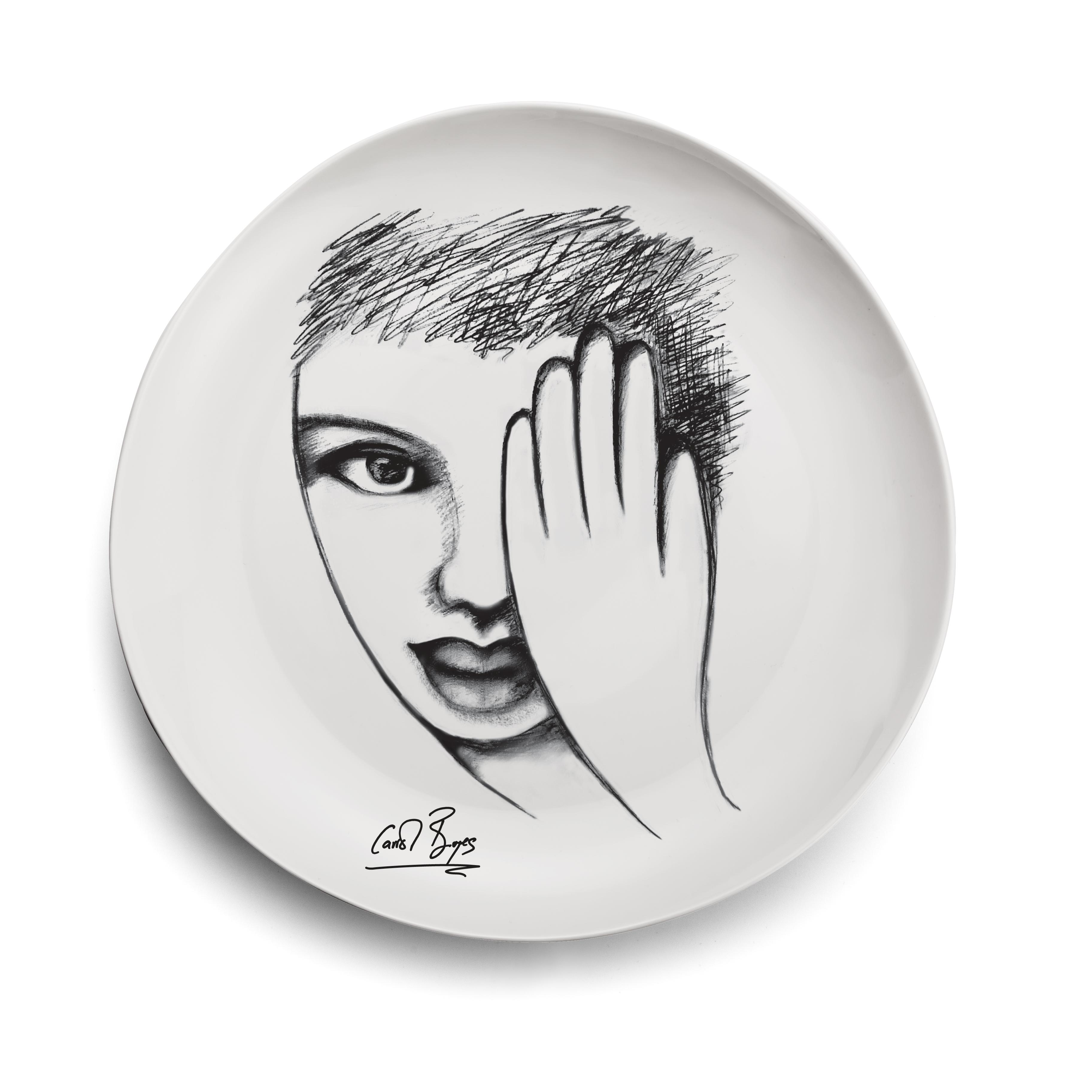 DINNER PLATE - eye 4 detail