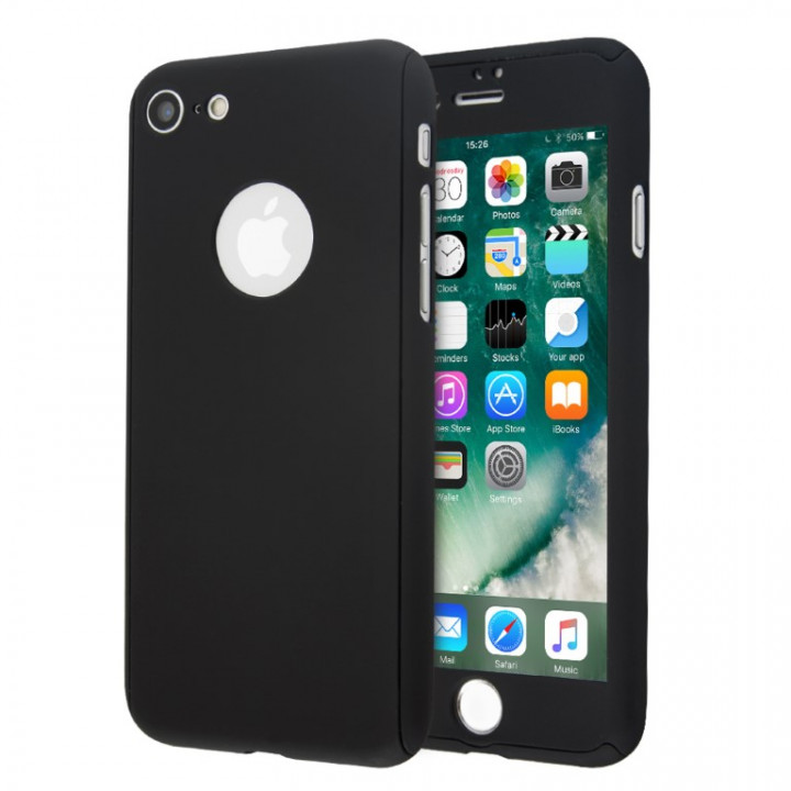 Guardian 360 Full hard cover case and tempered glass for iPhone 8