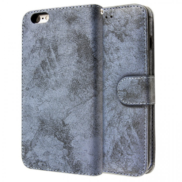 Case CLOUD LEATHER BOOK for iPhone 6/6s Plus