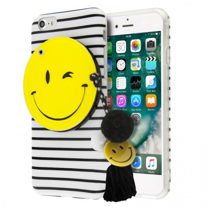 iCase Mirror Smiley case for iPhone 6/6s Plus