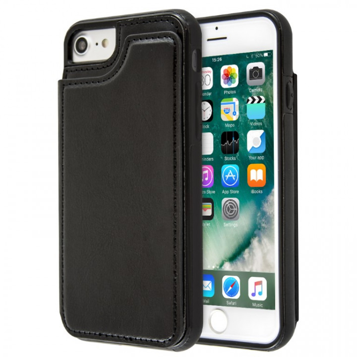 Case LEATHER OPEN WALLET for iPhone 6/6s Plus