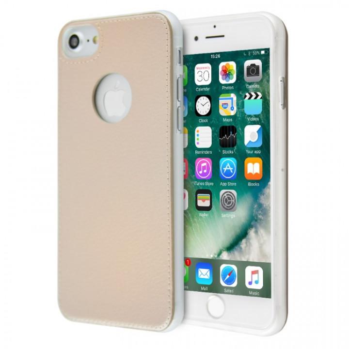Merge metallic leather logo case for iPhone 6/6s Plus