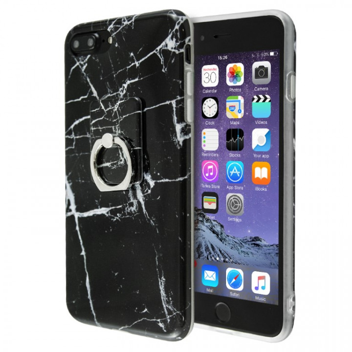 iCase Marble Ring case for iPhone 7/8/SE 2