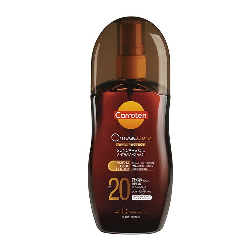 CARROTEN SUNCARE TANNING OIL SPF20  125ML