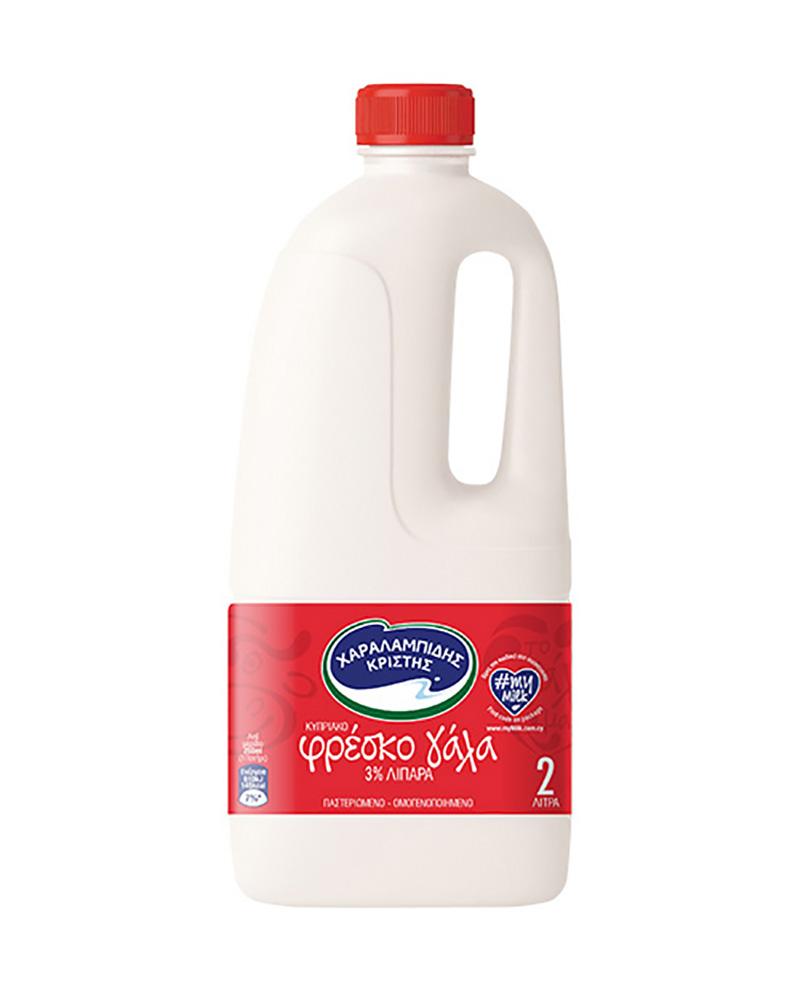 Charalampidis Milk 3% 2L
