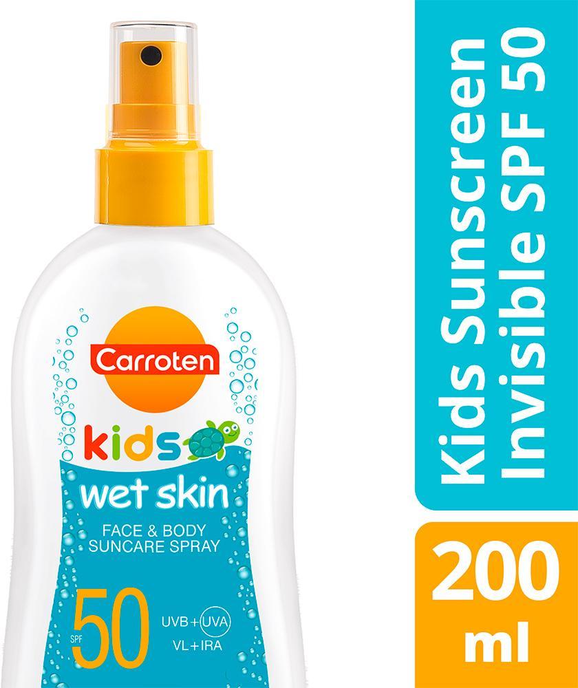 CARROTEN KIDS WET SKIN FACE & BODY SPF50 200ML