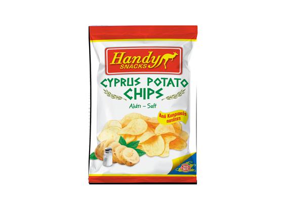 Handy Cyprus Potato Chips Salt 90g