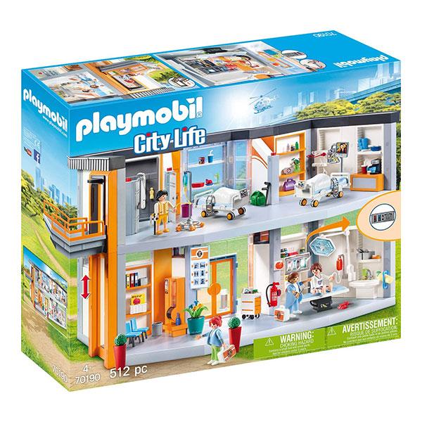Playmobil-70190-Μεγάλο-Ιατρικό-Κέντρο-1