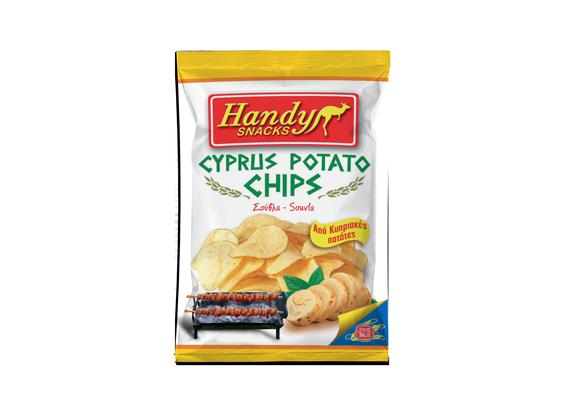Handy Cyprus Potato Chips Souvla 90g