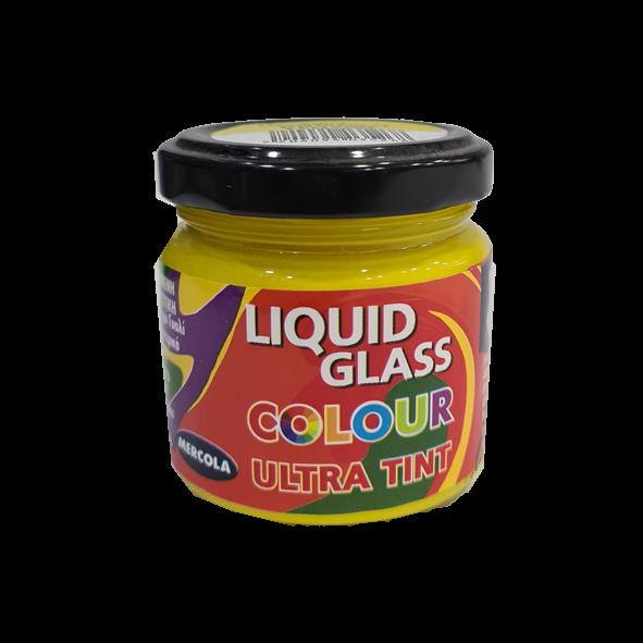 LIQUID GLASS COLOUR ULTRA TINT 90ML ΚΙΤΡΙΝΟ (ΑΔΙΑΦΑΝΗ ΧΡΩΣΤΙΚΗ ΓΙΑ ΧΡΩΜΑΤΙΣΜΟ ΥΓΡΟΥ ΓΥΑΛΙΟΥ)