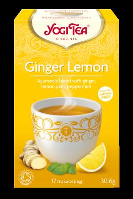 YOGI GINGER LEMON TEA 17 BAGS
