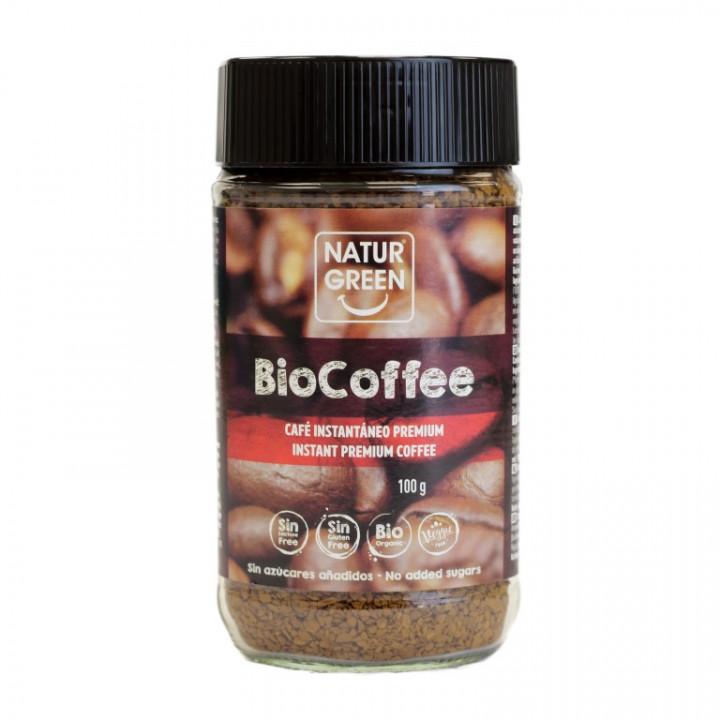 NATURGREEN INSTANT COFFEE 100G BIO