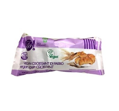 GREEN FOODS VEGAN WHEAT CROISSANT WITH COCOA 45G BIO