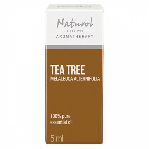 NATURΟL AROMATHERAPY TEA TREE ESSENTIAL OIL 5ML