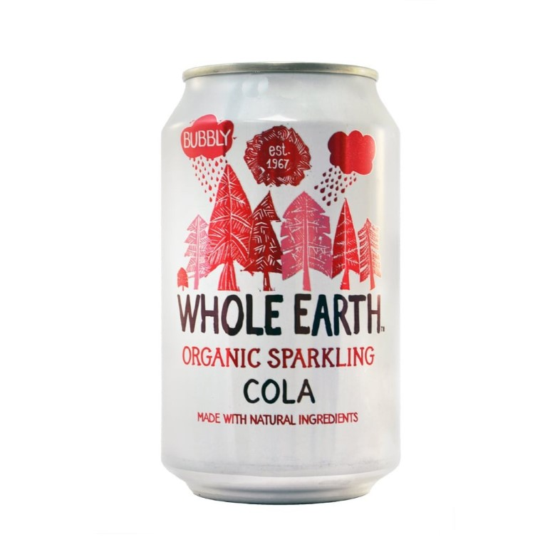 WHOLE EARTH COLA SOFT DRINK 330ML