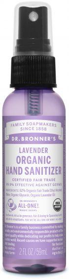 DR. BRONNERS HAND SANITIZING SPRAY LAVENDER 59ML