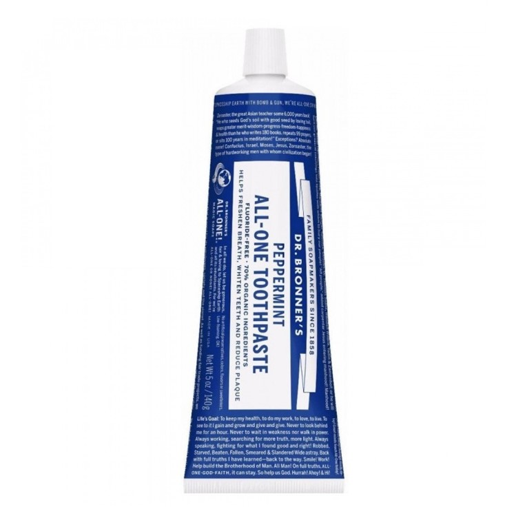 DR. BRONNERS PEPPERMINT TOOTHPASTE 140G