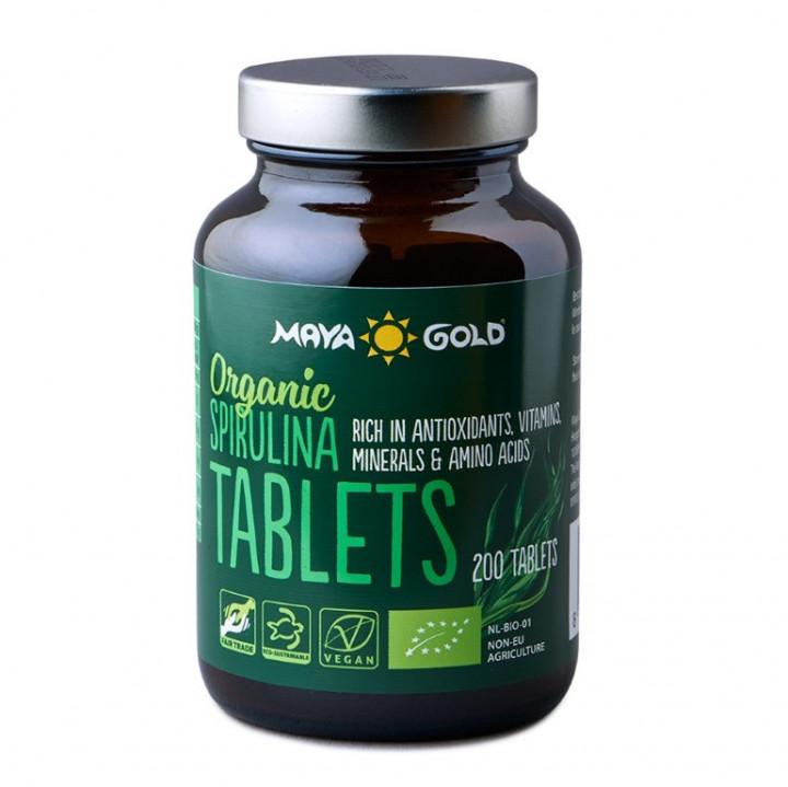 MAYA GOLD SPIRULINA 200 tablets BIO