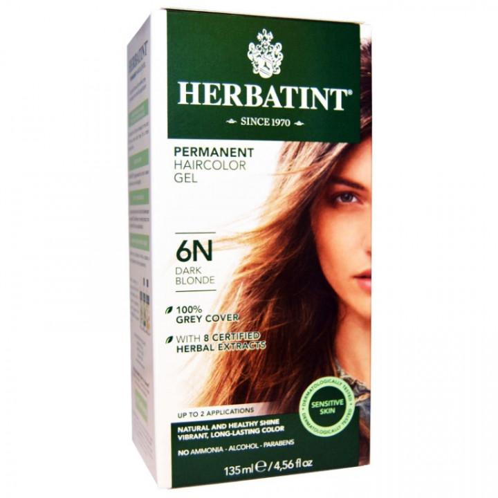 HERBATINT 6N DARK BLONDE HAIR COLOUR 135ML
