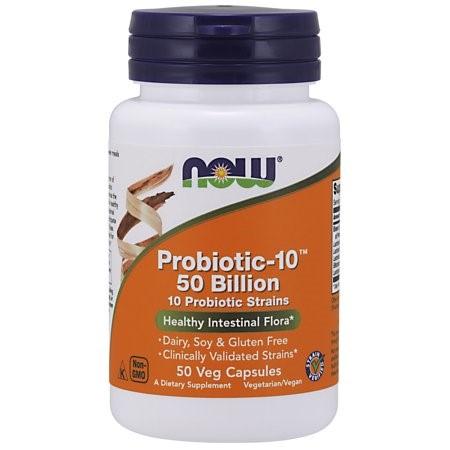 NOW PROBIOTIC-10 50 BILLION 50 capsules
