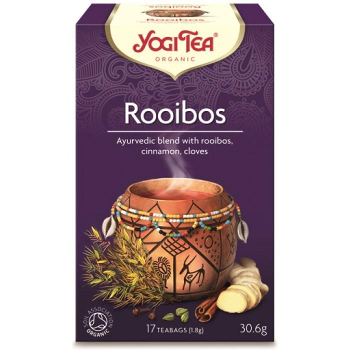 YOGI ROOIBOS TEA 17 BAGS BIO