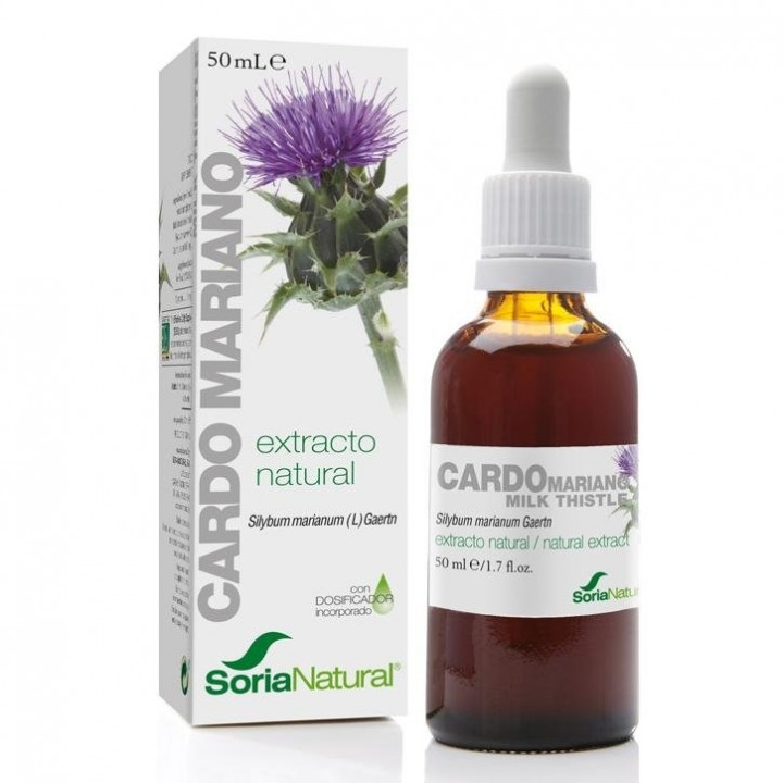 SORIA NATURAL THISTLE EXTRACT 50ML