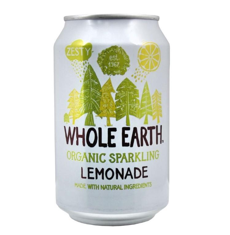 WHOLE EARTH LEMONADE SOFT DRINK 330ML