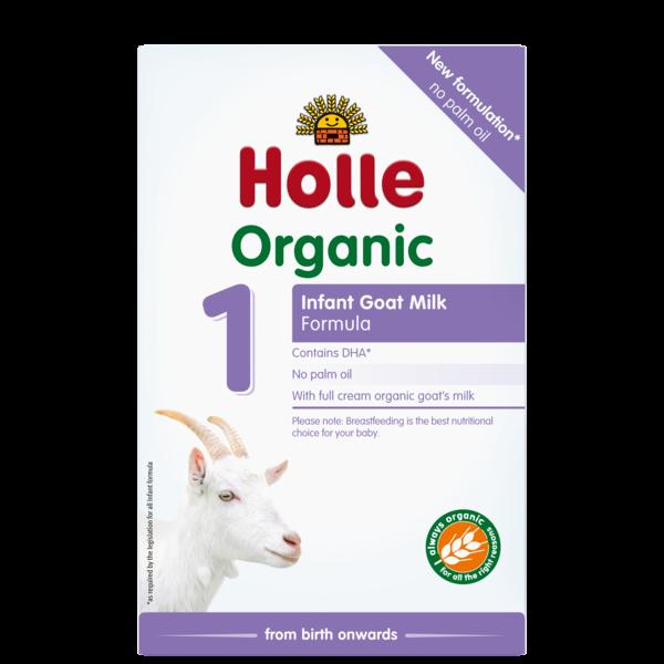 HOLLE INFANT GOAT MILK FORMULA 1 FROM 0-6 MONTHS - 400G BIO