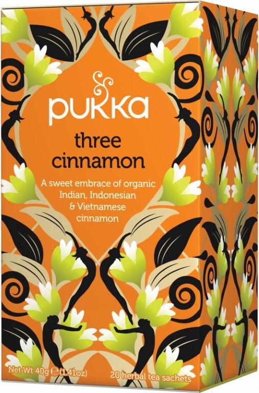 PUKKA 3 CINNAMON HERBAL TEA - 20 Bags