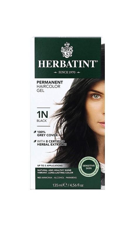 HERBATINT 1N BLACK HAIR COLOUR 135ML