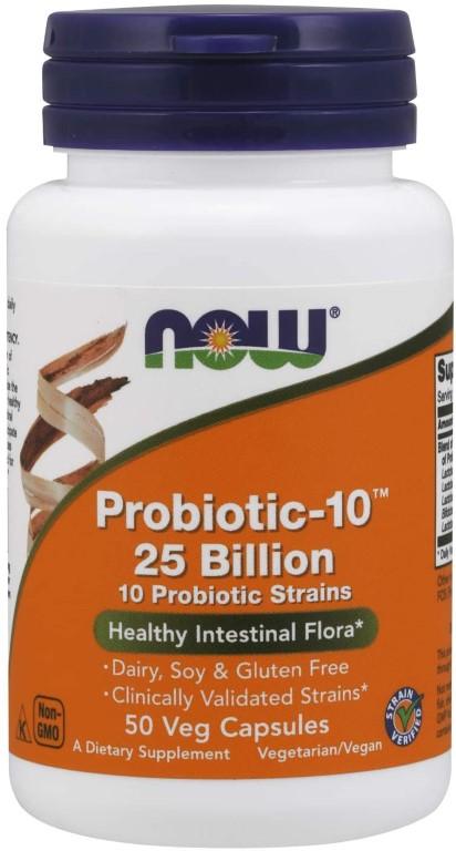 NOW PROBIOTIC-10 25BILION 50 capsules