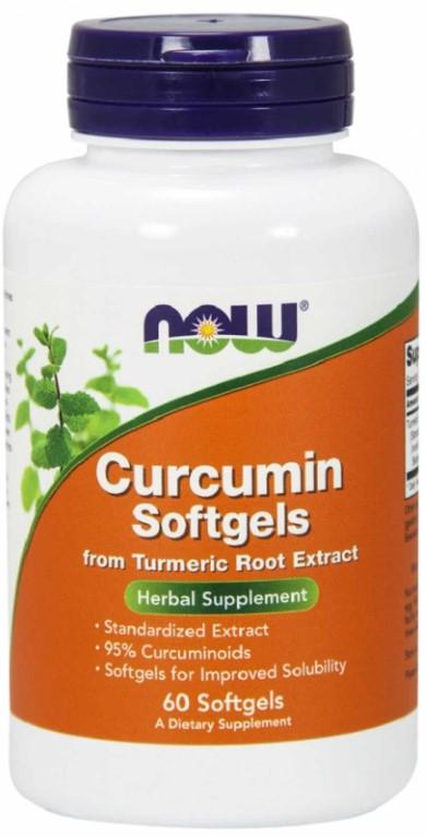 NOW CURCUMIN 665MG - 60 capsules