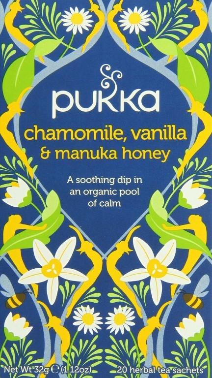 PUKKA CHAM/VANILLA/MANUKA HONEY - 20 BAGS