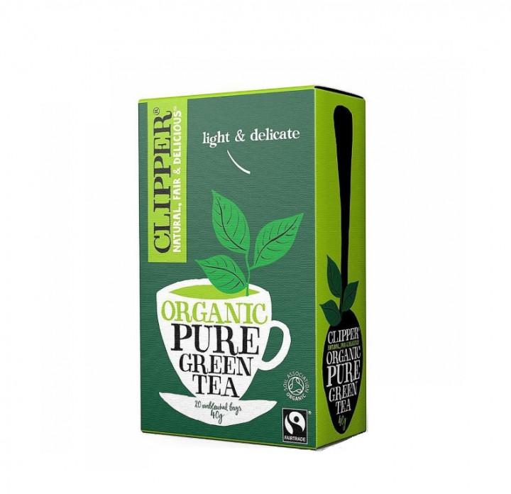 CLIPPER ORG PURE GREEN TEA 20 BAGS