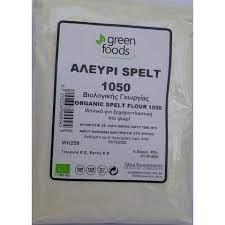 GREEN FOODS 1050 SPELT WHEAT FLOUR BIO 500G