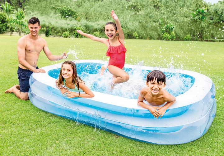Swim Center Family Pool, 103in X 69in X 22in