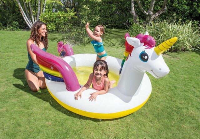 Mystic Unicorn Spray Pool
