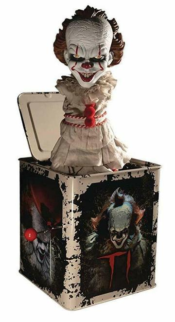STEPHEN KING'S IT 2017 BURST-A-BOX MUSIC BOX - PENNYWISE 36 CM
