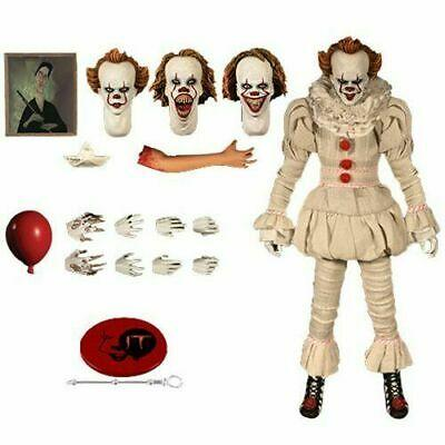 MEZCO ONE: 12 PENNYWISE IT MOVIE 2017 - COLLECTIBLE FIGURE
