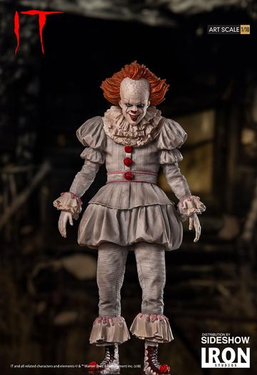 IT HORROR SERIES ART 1/10 PENNYWISE