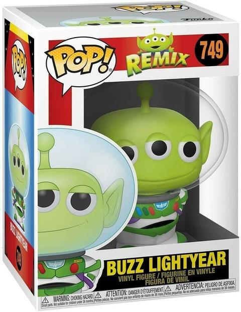 POP! DISNEY PIXAR: REMIX - BUZZ LIGHTYEAR #749 - Vinyl Figure