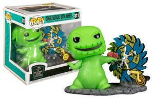 POP! DELUXE: THE NIGHTMAE BEFORE CHRISTMAS - OOGIE BOOGIE WITH WHEEL (GLOWS IN THE DARK) (SPECIAL EDITION) #811 - Vinyl Figure