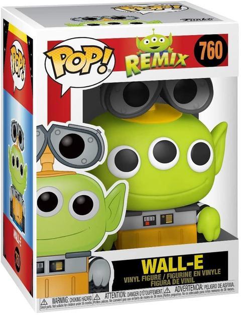 FUNKO POP! DISNEY: REMIX - WALL-E #760 VINYL FIGURE - Vinyl Figure